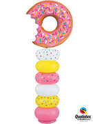 Donut Sprinkles Balloon Column
