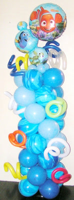 Finding Nemo Dory Squirt Balloon Column
