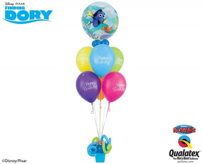 Dory Nemo Bubble Birthday Balloon Bouquet 2