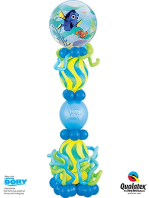 Dory Bubbles Birthday Balloon Stand Up 1