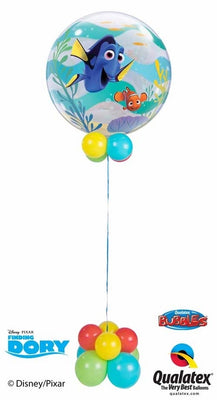 Dory Nemo Bubble Balloon Centerpiece