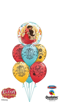 Elena of Avalor Bubbles Balloon Bouquet 1