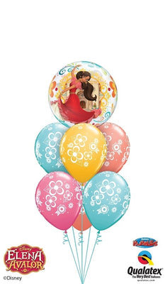 Elena of Avalor Bubbles Balloon Bouquet 2