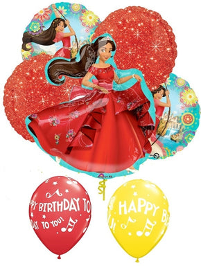 Elena of Avalor Birthday Balloon Bouquet 3