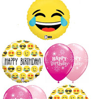 Emoticon Emoji Laugh Out Loud LOL Birthday Balloon Bouquet