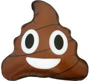 Emoticon Emoji Brown Poop Foil Balloon