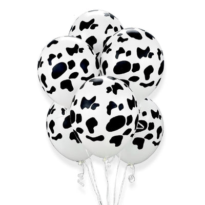 Cowhide Balloon Bouquet 7