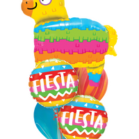 Fiesta Pinata Rainbow Balloon Bouquet 2