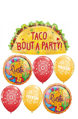 Fiesta Taco Bout A Party Balloon Bouquet