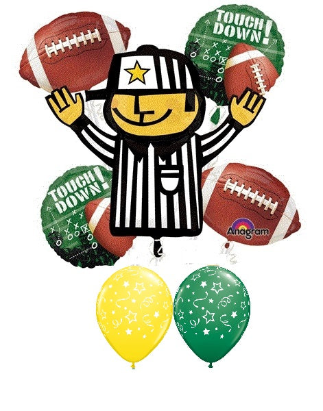 Football Referee Balloon Bouquet 3