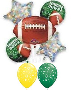 Football Touchdown Balloon Bouquet 4