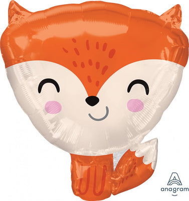 Woodland Critters Fox Animals 18 inch Foil Balloons