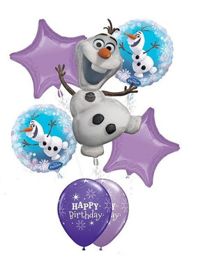 Frozen Olaf Birthday Balloon Bouquet 10