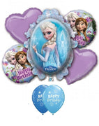 Frozen Elsa Birthday Balloon Bouquet 13