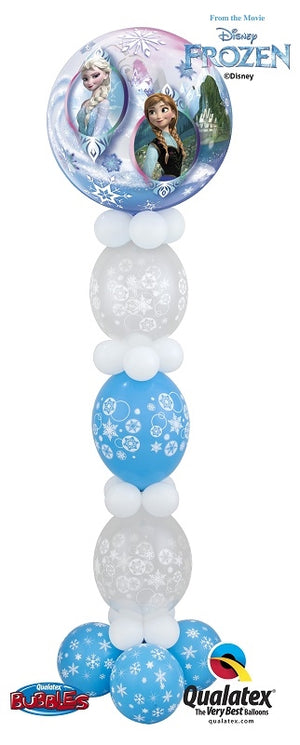 Frozen Elsa Anna Balloon Stand Up 4