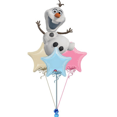 Frozen Olaf Balloon Bouquet 2