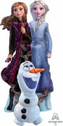 Frozen 2 Airwalker Elsa Anna Olaf 58 inches Balloon (includes Helium)