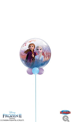 Frozen 2 Bubble Balloon Centerpiece