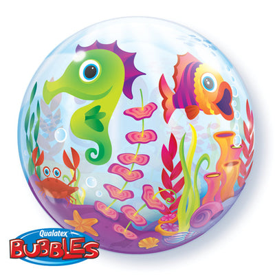 Fun Sea Creature Bubbles Balloon