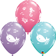 Fun Under The Sea Narwhal Balloons