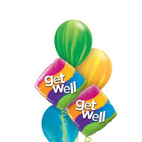 Get Well Waves Balloon Bouquet