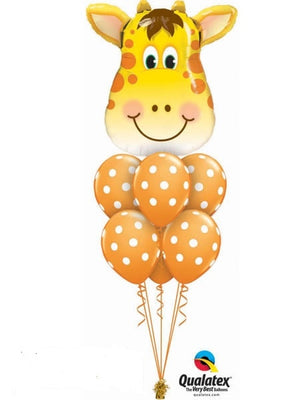 Giraffe Balloon Bouquet 1