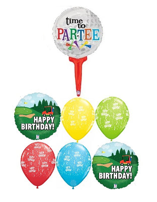 Golf Birthday Balloon Bouquet 3