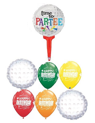 Golf Birthday Balloon Bouquet 4