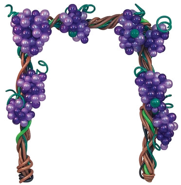 Grape Vines Balloon Arch