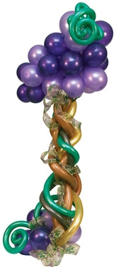 Grape Vines Balloon Column
