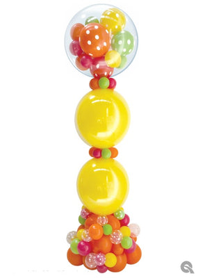 Gumball Multi Colours Balloon Column