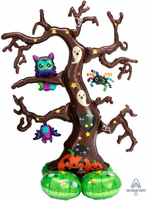 Halloween Creepy Tree 56 Inch AirLoonz Air Filled  Only