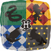 Harry Potter Hogwarts Foil Balloon with Helium