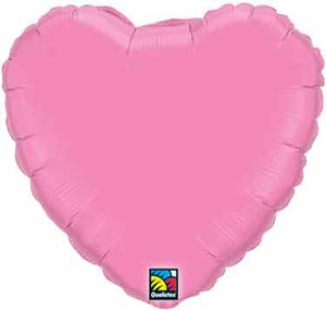 18 inch Rose Heart Foil Helium Balloon