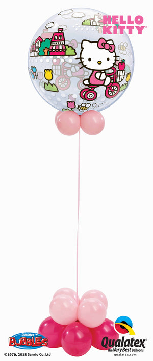 Hello Kitty Bubbles Collar Balloon Centerpiece