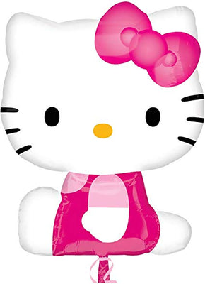 Hello Kitty Pink 27 inch Foil Balloon