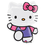 Hello Kitty Purple Pink 30 inch Foil Balloon