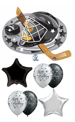 Hockey Mask Birthday Balloon Bouquet 1