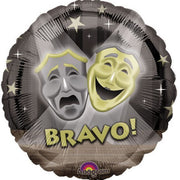 Hollywood Bravo 18 inch Foil Balloon
