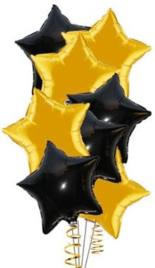 Hollywood Stars 18 inch Foil Balloons