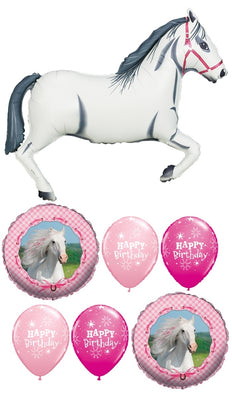Horse Birthday Balloon Bouquet 1
