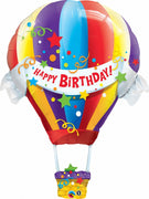 Hot Air Balloon 42 inch Foil Balloons with Helium