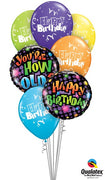 Your How Old Birthday Balloon Bouquet