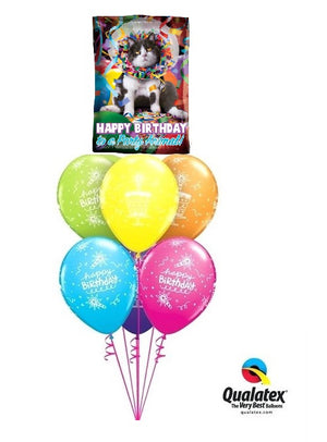 Humour Party Animal Birthday Balloon Bouquet