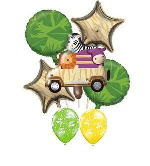 Jungle Safari Birthday Balloon Bouquet 1