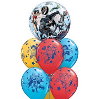 Justice Leauge Birthday Balloon Bouquet 1