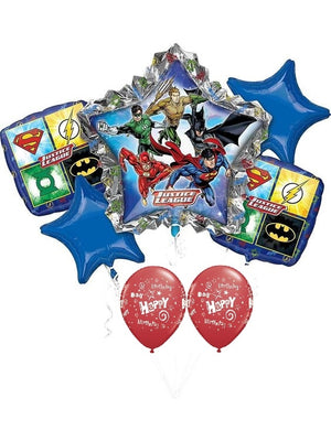 Justice Leauge Birthday Balloon Bouquet 2