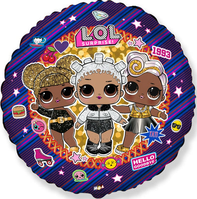 LOL Surprise Star 18 inch Foil Balloons