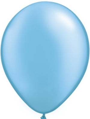 11 inch Pearl Azure Helium Balloon