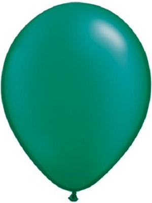 11 inch Pearl Emerald Green Helium Balloon